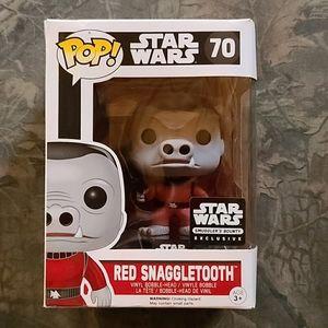 New Funko Pop! Star Wars #70 Red Snaggletooth